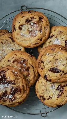 Fun Baking Recipes, Easy Cookie Recipes, Dessert Recipes, Brownie Recipe Without Chocolate, Chocolate Cookie Recipes, Tea Cakes, Choco Chips, Ice Chips, Butter Chocolate Chip Cookies