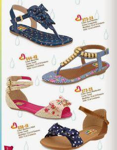 Sandalias de moda para niñas / Cklass Kids PV 2015