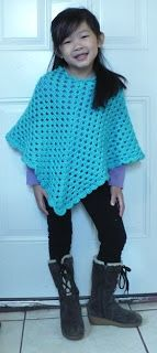 Lets create: Crocheted poncho