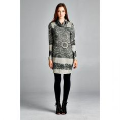 2015 Winter Gray and Black Dress. 2015 WinterGrayDress. New, this season. sizes small - large