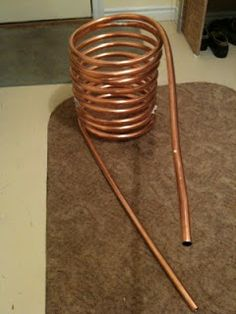 Copper pipe Dutch hot tub #L'ArbreVert #B&B http://larbrevert.net/