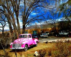 I want to own a truck, and/or a pink vehicle, it would be epic if it was both pink and a truck.