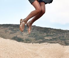 ''nymphaea'' style sandals by MOST-CHIC at Mykonos island