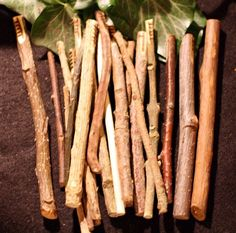 Long natural Celtic Ogham staves made with the corresponding woods!  by greenwomancrafts, $37.00