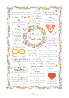 Descargable día de la Madre | mia mandarina blog