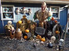 Halloween Decorations 2014--Mr. Pumpkin Patch