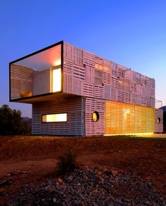 Infiniski adapts shipping container houses to suit local conditions and resources. Also, really affordable!