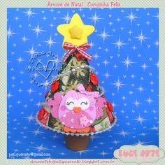Doce Arte by Pati Guerrato: Natal Doce Arte -  Mini árvore de natal