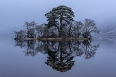 A tiny island at the far north-eastern tip of Loch Awe. Rorschach Inkblot, Natural Phenomena, Natural Wonders, Planet Earth, Life Is Beautiful, Mists, Scotland, Beautiful Pictures, Explore