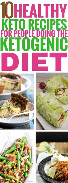 These healthy keto recipes are THE BEST! They're amazing for anyone on the ketogenic diet who wants to lose weight and be very healthy too! I'm so glad I found these, now I can enjoy some healthy breakfasts, lunches and dinners even while I'm losing weight with keto! Pinning this for sure! #keto #ketogenic #ketogenicdiet #healthyrecipes