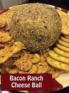 Bacon & Ranch Cheese Ball