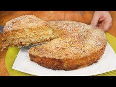 Pyszna szarlotka 3 filiżanki! Niezwykle prosta i łatwa szarlotka bez jajek! - YouTube Cake Recipes, Dessert Recipes, Desserts With Biscuits, Pie Cake, Sweet Bread, Apple Pie, Bakery, Deserts, Sweets