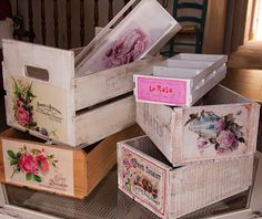 Ramshackle Romance - designs by Deborah N. Smith: Crates are Great!