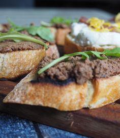 Crostini fegatini I Foods, My Photos, Sandwiches, Paninis
