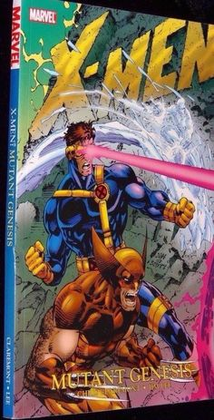 X Men Mutant Genesis 2nd Edition 1991 Marvel Comics Graphic Novel New Softcover