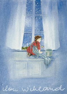 The Same Sea: Ilon Wikland and her illustrations Art And Illustration, Astrid Lingren, The Magic Faraway Tree, Picture Wall, Picture Books, Childrens Books, Watercolor Art, Fairy Tales, Art Drawings
