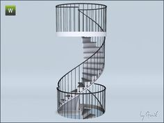 Gosik's Urban spiral stairs and railings - Sims 3 Sims 3, Sims 4 Tsr, Sims 4 Game, Los Sims 4 Mods, Muebles Sims 4 Cc, Sims 4 Bedroom, Casas The Sims 4, Sims 4 Clutter, Sims 4 Cc Packs