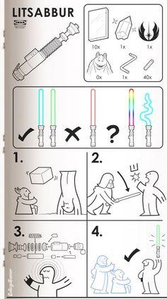 Ikea meets Star Wars.