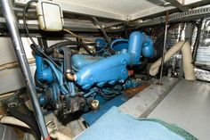 Used 1986 Carver 4207 Aft Cabin Motoryacht, 21220 Middle River - Boat Trader Middle River, Heat Exchanger, Yacht For Sale, Power Boats, Cabin, Cabins, Motor Boats, Cottage, High Performance Boat