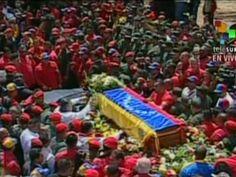 Cortejo fúnebre do presidente Hugo Chávez começa na Venezuela | Corpo do líder, morto na véspera, vai ser enterrado na sexta em Caracas. Chanceler anunciou eleições e disse que vice assume interinamente. http://mmanchete.blogspot.com.br/2013/03/cortejo-funebre-do-presidente-hugo.html#.UTdzdhw3uKI