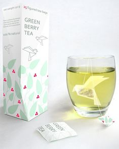 Origami Tea Bags.  So cool.