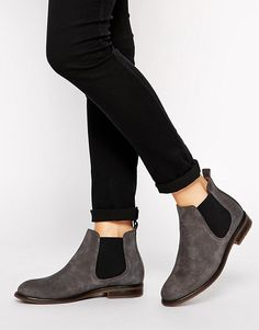 Jack Wills | Jack Wills Charcoal Suede Chelsea boots