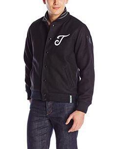 adidas Originals Men's Letterman Jacket, Black/White, Medium adidas Originals ++You can get best price to buy this with big discount just for you.++