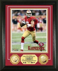 AAA Sports Memorabilia LLC - San Francisco 49ers Colin Kaepernick Gold Coin  Photo Mint 261822633