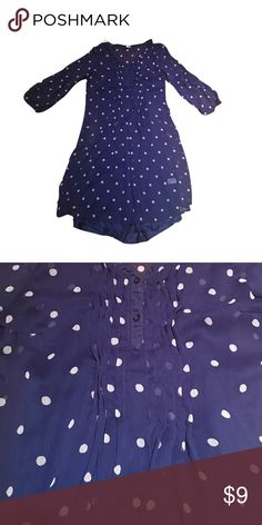 Sheer dot dress 👗 Only worn a few times just doesn't fit anymore:( Old Navy Dresses