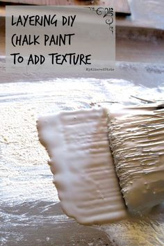 How to: Chalk Paint Techniques, Layering, Texture & Crackle - Detailed Tutorial