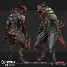 ArtStation - Possessed Lv2 Boss, Aitor Fius #cg #3d #cgi #render #creature #monster