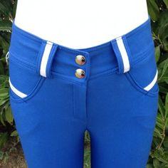 Pantalon d'équitation - Bleu roi Enfant