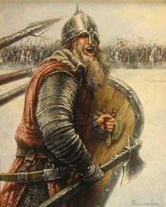 m Fighter Chain Shield helm Axe snow plains battle Celtic Warrior Viking Power, Rune Viking, Viking Art, Viking Warrior, Viking Helmet, Ancient Vikings, Norse Vikings, Les Runes, Symbole Viking