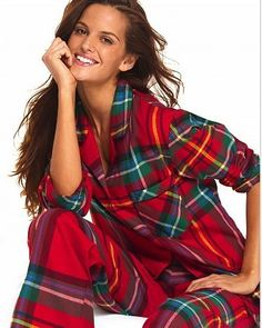 Victoria Secret flannel pjs relax after training so comfy and warm great in these cold months