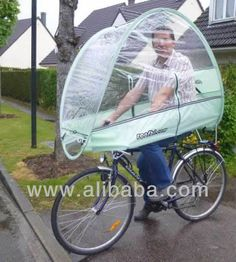 rain protection for bikes Bicycle Crafts, Bike Cover, Scooter Design, I Love Rain, Bicycle Storage, Gadgets, Cool Bike Accessories, Cool Inventions, Get Outdoors