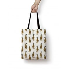 Our Hare Tote Bag is stunningly illustrated and ideal for all your shopping needs It's design is a repeat pattern of our wonderful Hare and is printed edge to edge. This bag is cotton and is designed, made and finished in the UK. Hare, Shopping Bag, Reusable Tote Bags, Classic, Pattern, Derby, Bunny, Patterns, Classic Books
