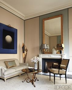Design: Jean-Louis Deniot Photograph: Miguel Flores-Vianna Featured in: Luxe Living on the Left Bank Issue: May 2011 Jean Louis Deniot, Louis Xvi, Decoration Inspiration, Interior Inspiration, Decor Ideas, Bedroom Inspiration, Living Room Designs, Living Spaces, Living Rooms