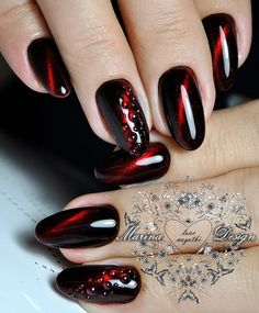 Cat eye nails are trending — check out the many different ways you can rock a cat eye manicure. Stiletto Nail Art, Acrylic Nails, Pastel Nails, Coffin Nails, Gothic Nails, Nagel Blog, Cat Eye Nails, Kitty Nails, Nagellack Trends