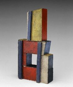 Joaquín Torres-García, Estructura en Colores Puros (Structure in Primary Colors) 1929 Oil and nails on wood Dimensions cm x x Dimensions in 9 x Art Sculpture, Abstract Sculpture, Abstract Art, Geometric Sculpture, Wire Sculptures, Bronze Sculpture, Contemporary Sculpture, Contemporary Art, Modern Art