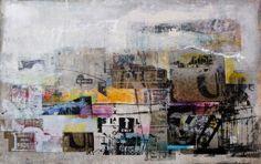 George Heidweiller's sold artwork | George Heidweiller - 1,40×1,80 m