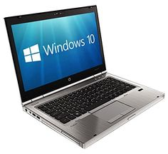HP EliteBook 8470P 14 inch Notebook (Intel i5-3320M 8 GB RAM 320 GB HDD Windows 10) - Silver...