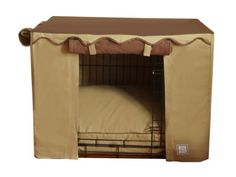 BOWHAUSNYC Camel Brown Crate Cover, Small -- Continue to the product at the image link.