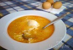 Fokhagymás tojásleves
