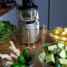 Hurom Slow Press Juicer - A consumer-grade juice press machine now available for home kitchens