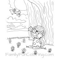 Camping Coloring Pages - FamilyFunColoring