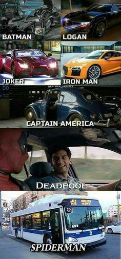 Transporte dos heróis