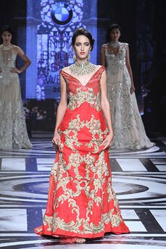 Falguni & Shane Peacock - BMW India Bridal Fashion Week 2015