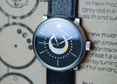 Ochs und Junior Selene Tinta    An incredibly accurate moon phase, and they'll make the dial any Pantone color you want!