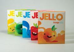 retro Jello packages