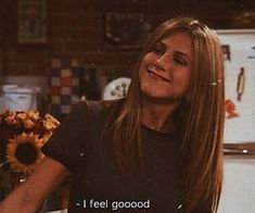 Image about quotes in Cool by Several Feelings Jennifer Anniston cool feelin Jennifer Anniston Anniston cool feelin feelings Image Jennifer Quotes Serie Friends, Friends Moments, Friends Tv Show, Friends Tv Quotes, Tv Show Quotes, Film Quotes, Quote Aesthetic, Aesthetic Pictures, Monica Rachel